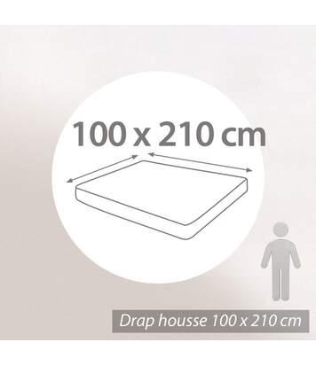 Protège matelas imperméable 100x210 Antony Grand Bonnet 30cm