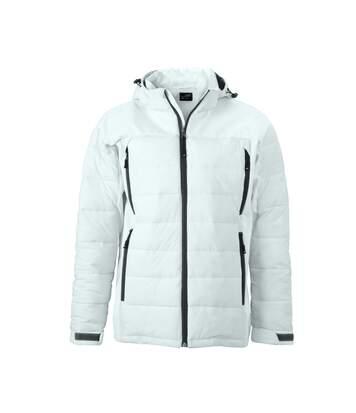 Veste matelassée Homme anorak ski / neige - JN1050 - blanc