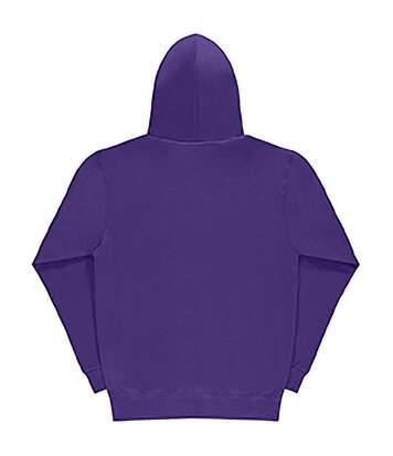 SG Mens Plain Hooded Sweatshirt Top / Hoodie (Purple) - UTBC1072