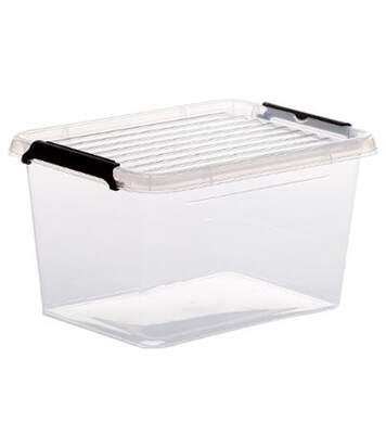 Boîte de Rangement Clip 2L Transparent