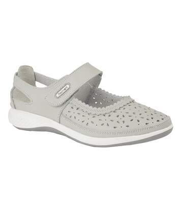 Boulevard - Chaussures Ouvertes - Femme (Gris clair) - UTDF1426