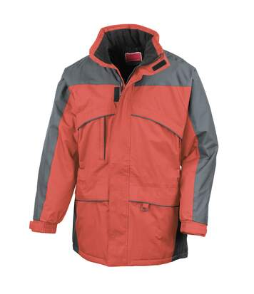 Result Mens Seneca Midweight Performance StormDri Waterproof Windproof Jacket (Red/Anthracite) - UTBC940