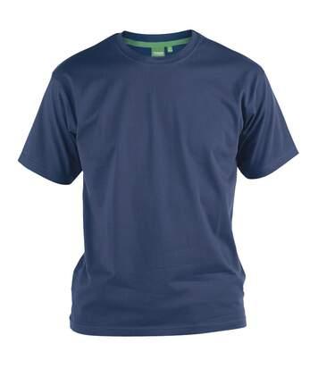Duke D555 Kingsize Flyers - T-Shirt Col Ras-Du-Cou - Homme (Bleu marine) - UTDC143