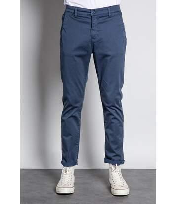 Pantalon chino slim MILANO Navy