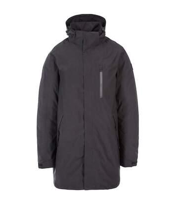 Trespass Mens Shoulton Padded Waterproof Breathable Jacket (Black) - UTTP4806