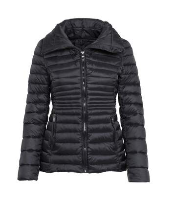 2786 Womens/Ladies Contour Quilted Jacket (Black) - UTRW5537