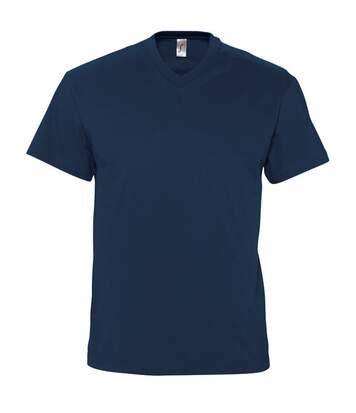 SOLS Mens Victory V Neck Short Sleeve T-Shirt (Oxblood) - UTPC388