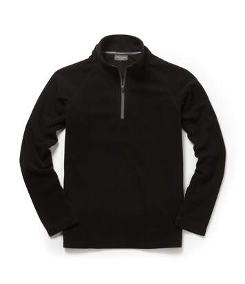 Craghoppers Mens Expert Basecamp Half Zip Microfleece Top (Black) - UTCG835