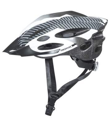 Trespass Crankster - Casque De Cyclisme - Adulte Unisexe (Blanc) (S/M) - UTTP403