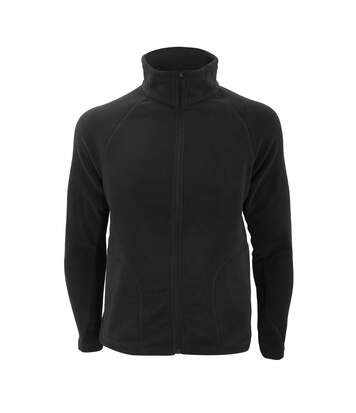Result Core Mens Micron Anti Pill Fleece Jacket (Black) - UTBC852