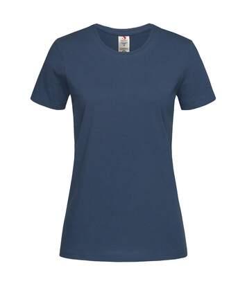 Stedman - T-Shirt Classique - Femme (Bleu marine) - UTAB458