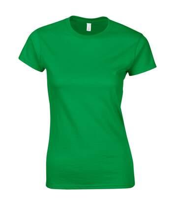Gildan - T-Shirt À Manches Courtes - Femme (Vert irlandais) - UTBC486