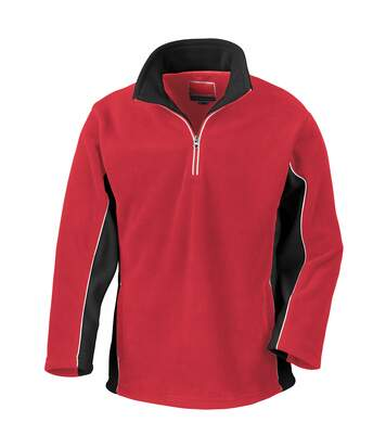 Result Mens Tech3 Sport Anti Pilling Windproof Breathable Fleece (Red/Black) - UTBC935
