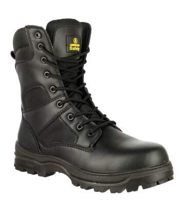 Amblers FS008 Mens Safety Boots (Black) - UTFS2547