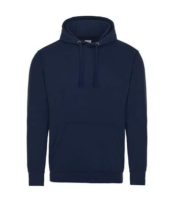 AWDis Just Hoods Adults Unisex Supersoft Hooded Sweatshirt/Hoodie (Navy) - UTRW3926