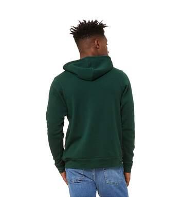 Bella + Canvas Unisex Pullover Polycotton Fleece Hooded Sweatshirt / Hoodie (Heather Grey) - UTBC1336