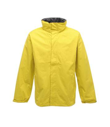Regatta Mens Standout Ardmore Jacket (Waterproof & Windproof) (Limetta/Seal Grey) - UTRG1603