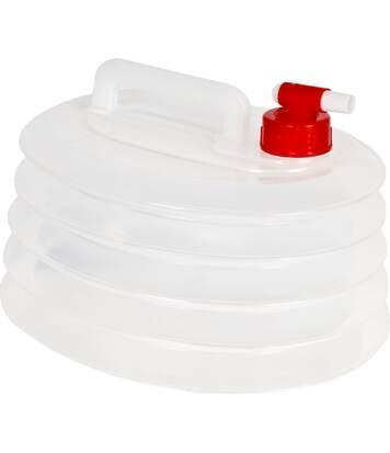 Trespass Squeezebox - Réservoir D'eau Repliable (6 Litres) (Clair) (Taille unique) - UTTP538