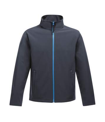 Regatta Standout Mens Ablaze Printable Softshell Jacket (Navy/French Blue) - UTRW6353