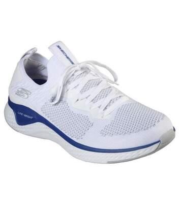 Skechers - Baskets Solar Fuse - Homme (Blanc/bleu) - UTFS6781