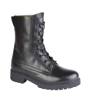 Grafters Mens Assault 2.0 Leather Boots (Black) - UTDF1544