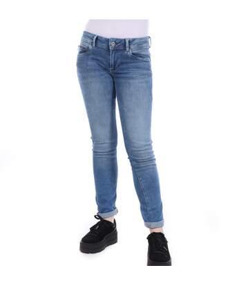 Jeans Slim Bleu Femme Pepe Jeans New Brooke