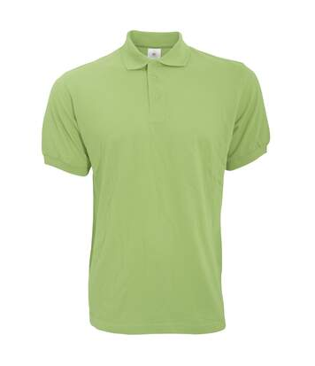B&C Safran Mens Polo Shirt / Mens Short Sleeve Polo Shirts (Khaki) - UTBC103