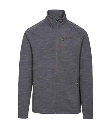 Trespass Mens Brolin DLX Fleece Jacket (Grey Marl) - UTTP4286