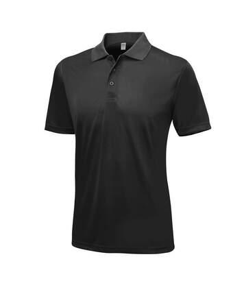 AWDis Just Cool Mens Smooth Short Sleeve Polo Shirt (Charcoal) - UTPC2632