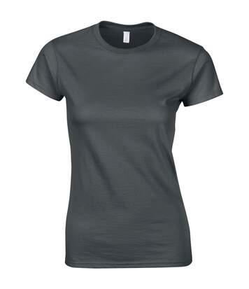 Gildan - T-Shirt À Manches Courtes - Femme (Gris foncé) - UTBC486