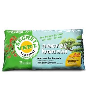 Terreau pour bonsaïs 3kg