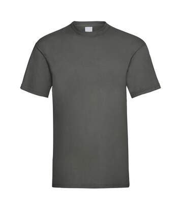 Mens Value Short Sleeve Casual T-Shirt (Graphite) - UTBC3900