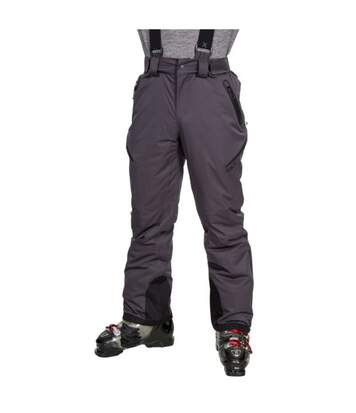 Trespass Mens Kristoff Stretch Ski Trousers (Dark Grey) - UTTP4377