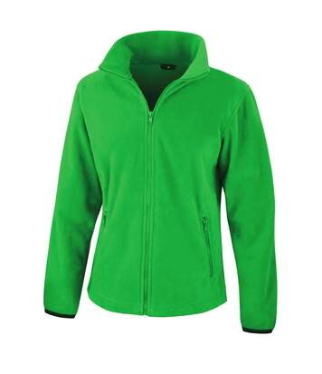 Result Womens/Ladies Core Fashion Fit Fleece Top (Vivid Green) - UTBC3042