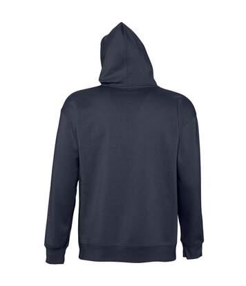 SOLS Slam Unisex Hooded Sweatshirt / Hoodie (Navy) - UTPC381