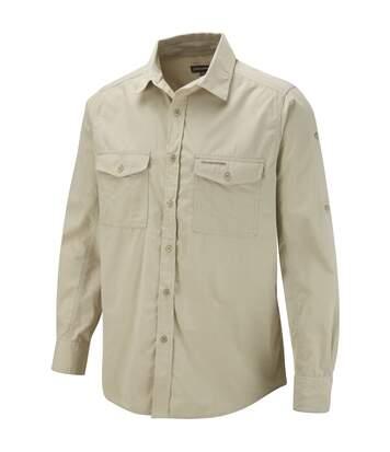 Craghoppers Mens Kiwi Long Sleeve Casual Shirt (Cedar) - UTRW342