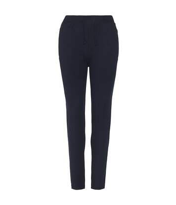 AWDis Hoods Womens/Ladies Girlie Tapered Track Pants (New French Navy) - UTRW5367