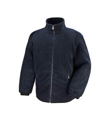 Result Core Mens Polartherm Fleece Jacket (Black) - UTBC909