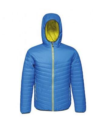 Regatta Standout Mens Acadia II Down-Touch Padded Jacket (Navy/Neon Spring Green) - UTPC3321