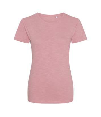 Awdis - T-Shirt - Femme (Rose) - UTPC2896