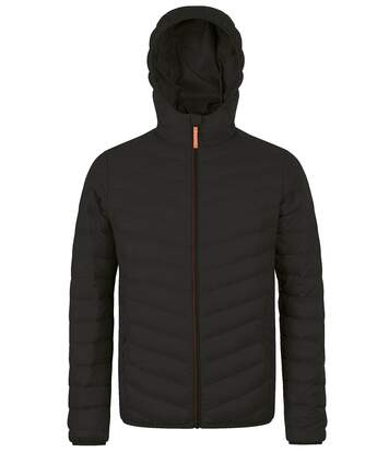 Doudoune légère à capuche duvet homme - 01620 - noir