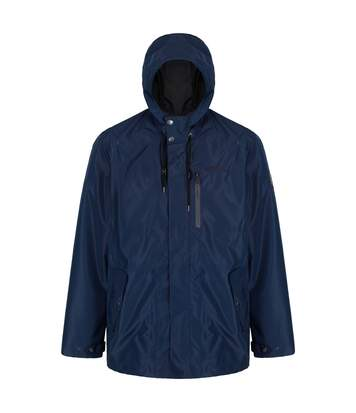 Regatta Mens Boman Hooded Jacket (Navy) - UTRG3689