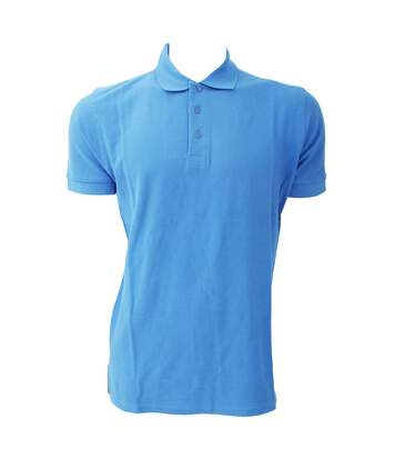 Jerzees Colours Mens Ultimate Cotton Short Sleeve Polo Shirt (Sky Blue) - UTBC569