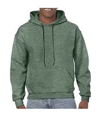Gildan - Sweatshirt À Capuche - Unisexe (Vert foncé chiné) - UTBC468