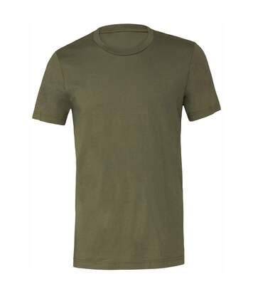 B & C - T-Shirt À Col Rond - Mixte (Vert militaire) - UTRW5722
