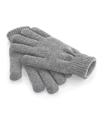 Beechfield Unisex Touchscreen Smart Phone / IPhone / IPad Winter Gloves (Heather Grey) - UTRW253