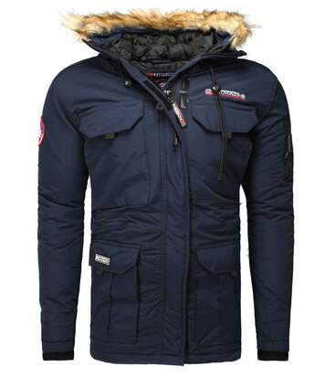 Parka homme Geographical Norway Parka GN Bottle bleu marine