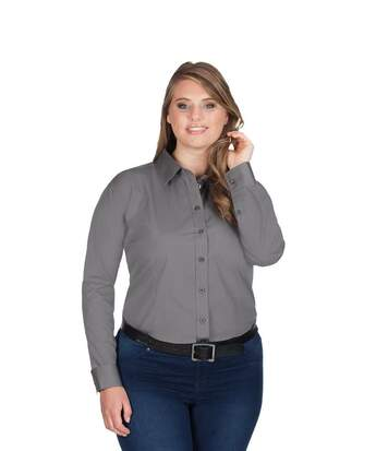 Chemise Business manches longues grandes tailles Femmes