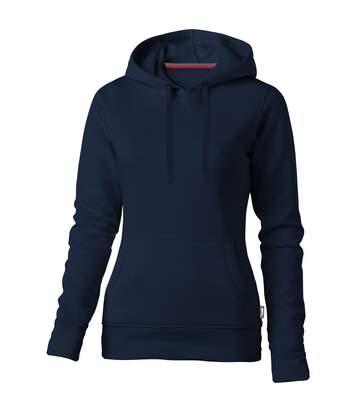 Slazenger Womens/Ladies Alley Hooded Sweater (Navy) - UTPF1761