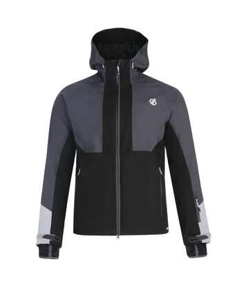 Dare 2b Mens Panoramic Waterproof Jacket (3XL) (Black/Ebony) - UTRG4863